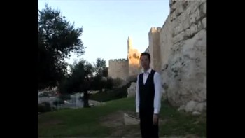Revelation 17, filmed outside the Old City of Jerusalem, Israel (Tom Meyer)