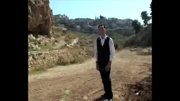 Revelation 20, filmed outside the Old City of Jerusalem, Israel (Tom Meyer)