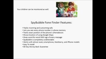 SpyBubble...Fone Finder Software