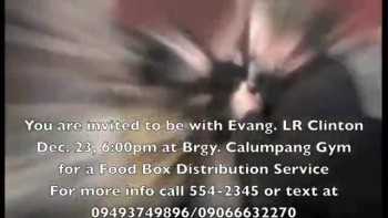 Calumpang Crusade TV Ad