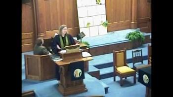 Sermon March 7th, 2011