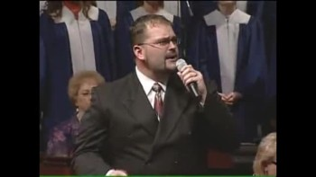 "Bryan James Hatton singing ""It Is Finished"""