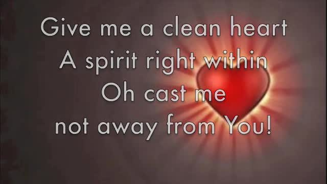 Song: Psalm 51