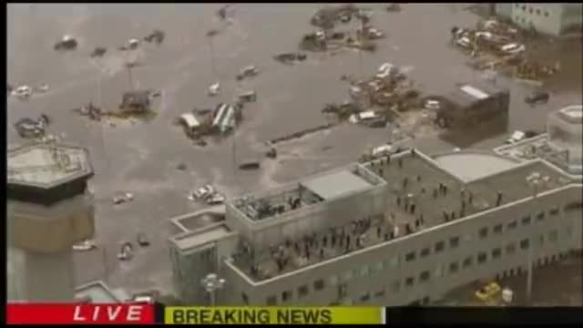 Massive Earthquake Tsunami Hit Japan