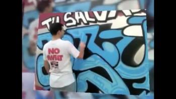 HELLO your Savior is JESUS - GRAFFITI