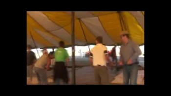How to erect a Tent for revival meeting