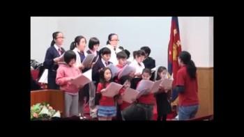 20110306救世軍中央堂兒童詩班