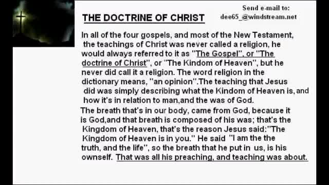 The Doctrine of Christ.avi
