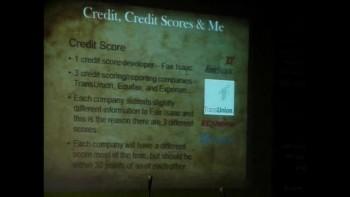 Credit, Credit Scores & Me part 1