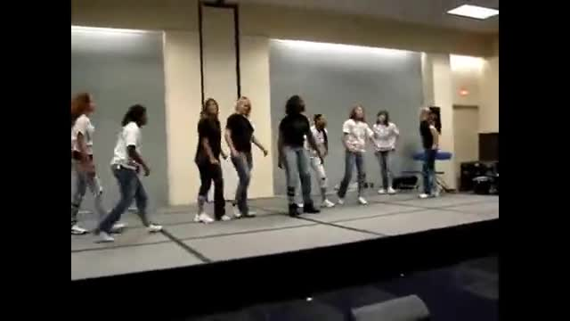 The Amazing Most Wanted Stepperz Step Team