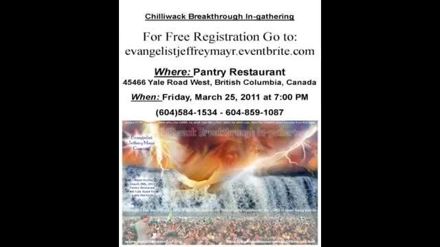Miracle Evangelist Jeffrey Mayr