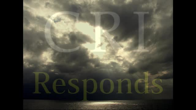 Breaking the Silence: The Vision of CRI