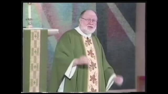 Catholic priest, 10 Commandments, homily