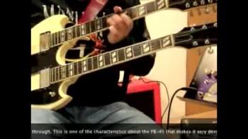 FuzzBubble-45 & Gibson double neck