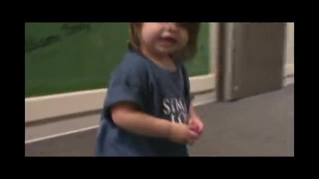 Baby Hits face Sad but 2 Funny