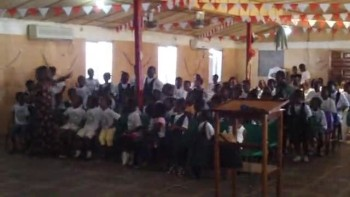 Liberia School Singing