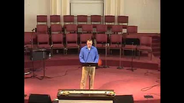 3-20-11 AM Sermon
