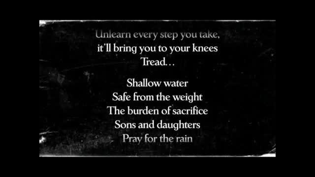 Demon Hunter - Shallow Water (Slideshow With Lyrics)
