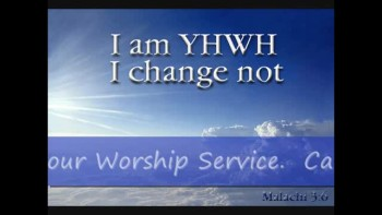3-13-11 God Does Not Change