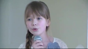Connie Talbot Sings Someone Like You