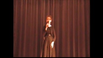 11 yr old Kennedy Crisp sing the reason why I sing