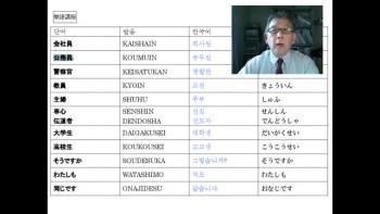 Japanese Lesson 3