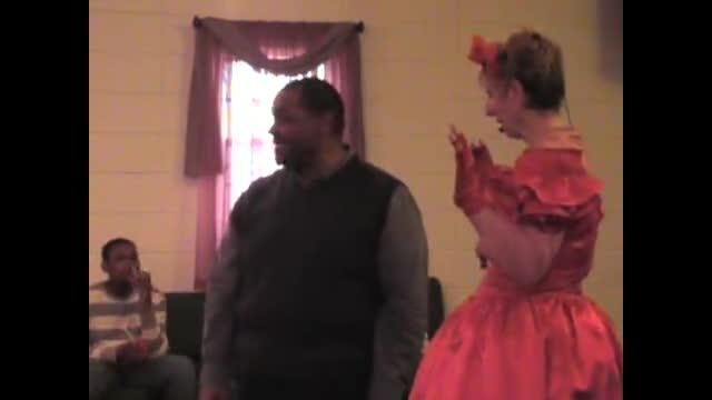 Pastor Praising in a Pink Tutu