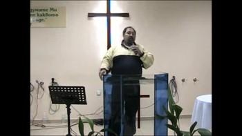 06.04.2011 п-р Шиваров-Верният ученик е християнина,който БОГ иска да бъдеш!