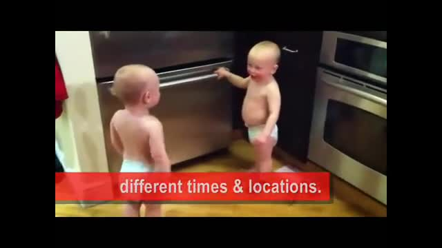 Talking Twin Babies - Parody of what they're really saying