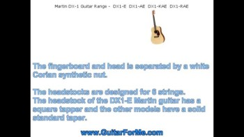 Martin DX1 Guitar Review