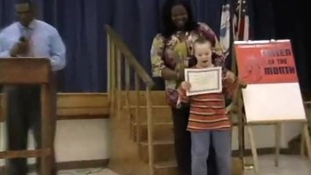 Zane Citizen of the Month