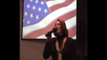 Brenda Reutebuch sings American National Anthem 2011.wmv