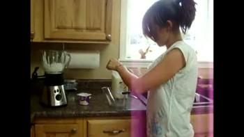 My recipe for bannana smoothie!
