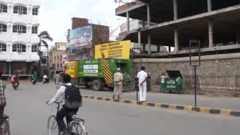 Trash trucks have arrived in Varanasi