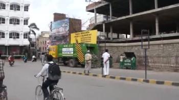 Trash trucks have arrived in Varanasi