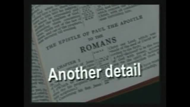 Romans 1:29-32 Why God is Right to Damn Wrong Pt5 w/JD @ CC Kaneohe 04-10-2011AD