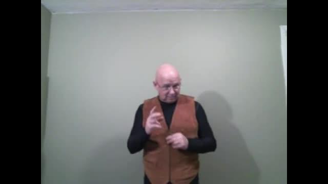Watch! specific explanation ASL Matthew 24:42-44