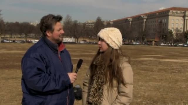 Lia Mills Interview at the March for Life