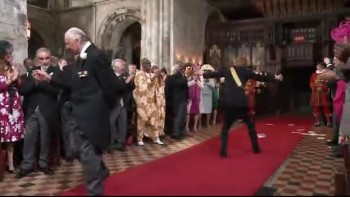 Royal Family Wedding Dance