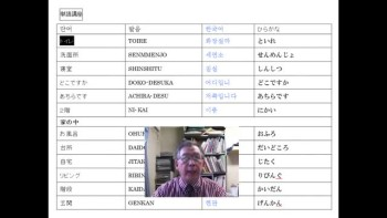 Japanese Lesson9