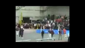 Heather Dorniden's Big Indoor 600m track championship race