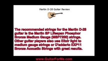 Martin D-28 Guitar Review
