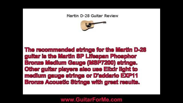 Martin D-28 Guitar Review