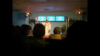 "Anita doing a Pantomime of Nicole C. Mullen's ""My Redeemer Lives"""