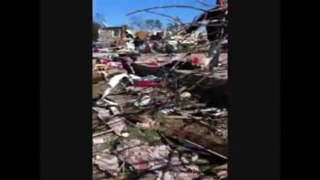 Tuscaloosa Tornado survivor