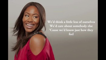 Mandisa - What If We Were Real (Slideshow with lyrics)