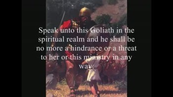 AMIGHTYWIND Prophecy 45 - Goliath Slayers: Arise, My Sons, Like A Spirit of King David!