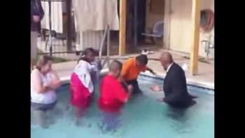 Pastor A Payton Sr Sermon Live Baptism