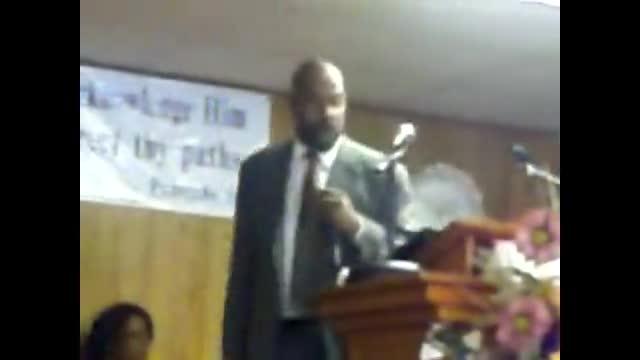 Pastor A Payton Sr Sermon Identify Your Faith, Pt 1