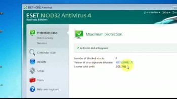 [HOW TO] ESET NOD32 Username & Password ( MAY 2011 )